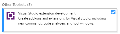 VS Extension Workflow 1